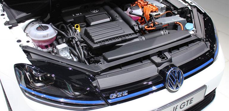 Motor de Golf GTE auto híbrido de Volkswagen