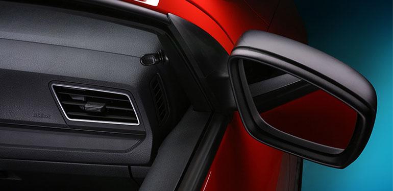 Espejo lateral de Nuevo Gol de Volkswagen
