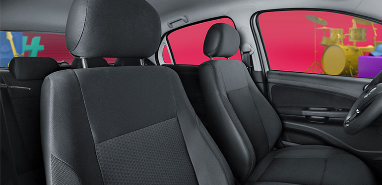 Interiores de Gol Edición Aniversario de Volkswagen