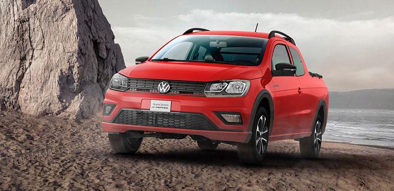 Camioneta Saveiro Doble Cabina de Volkswagen