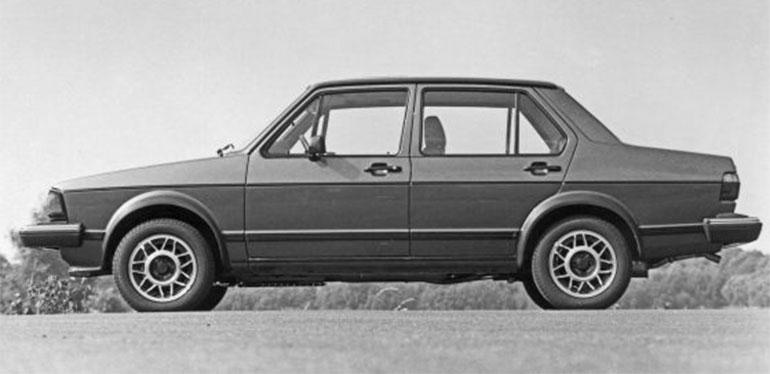 Primer Jetta GLI de Volkswagen en 1984
