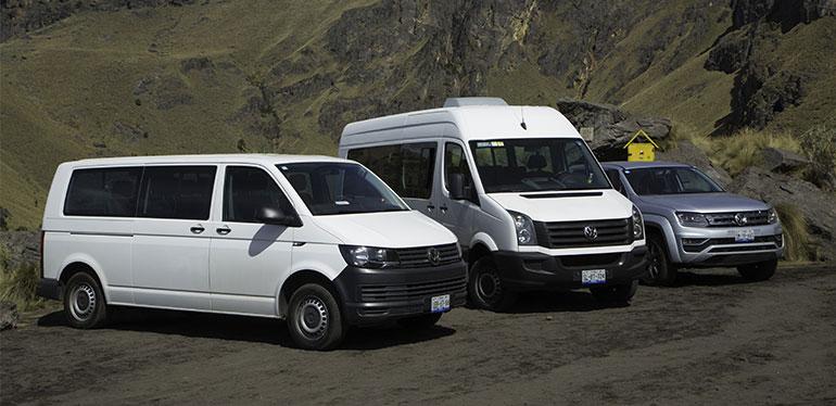 Amarok, Transporter y Crafter, vehículos comerciales Volkswagen en #CumbreItza