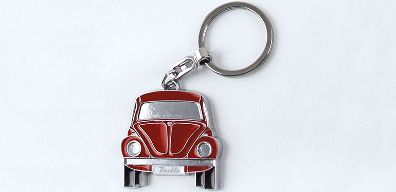 Llavero de Volkswagen Collection, el cual puedes adquirir en tu concesionaria VW
