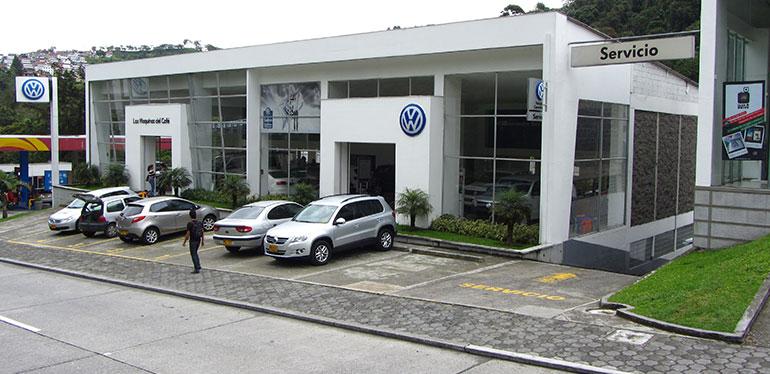 Agencia de autos Volkswagen