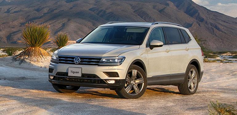 Nuevo Tiguan, SUV de Volkswagen en un ambiente desértico