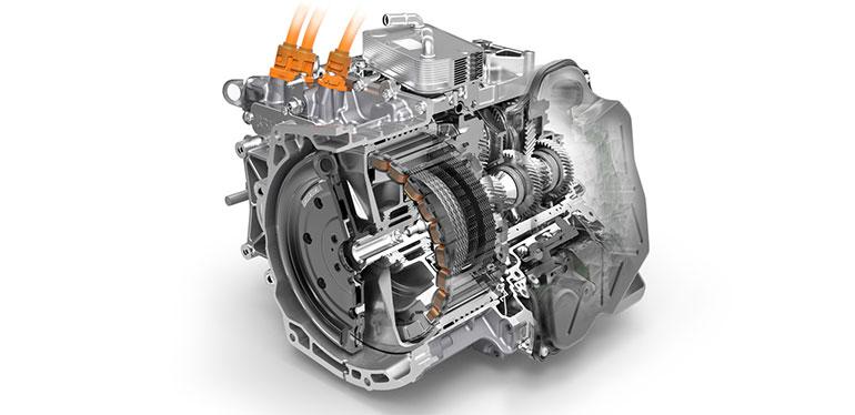 Diagrama de la transmisión DSG de Volkswagen