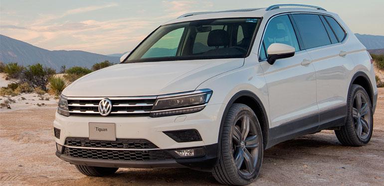 Tiguan 2018 de Volkswagen color blanco