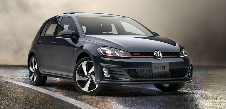 Nuevo Golf GTI 2019 de Volkswagen color negro