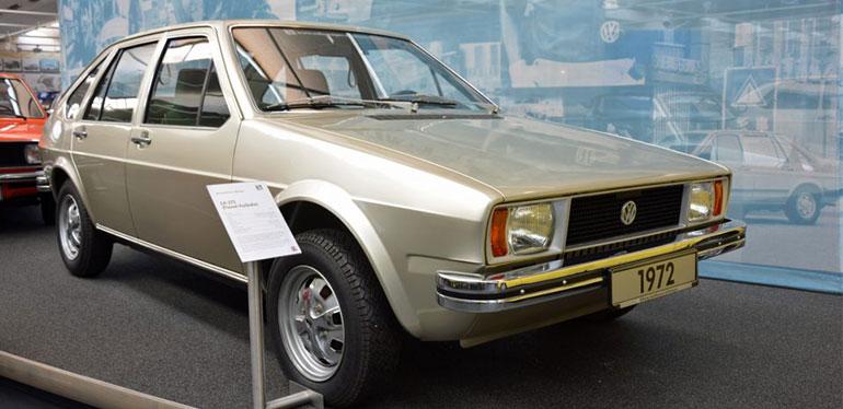 EA 272 auto clásico de Volkswagen de 1972