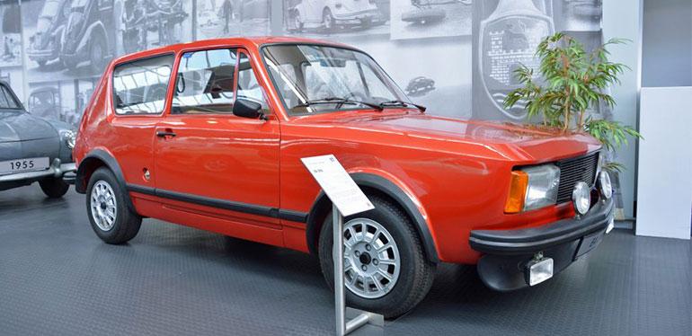 EA 276 auto clásico de Volkswagen de 1969
