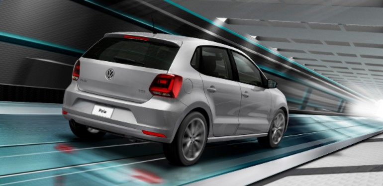 Polo 2019 color gris obtenido mediante financiamiento Volkswagen
