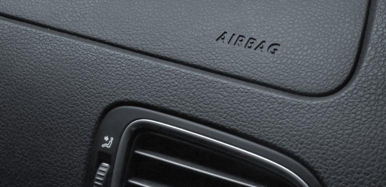 Bolsa de aire presente en Polo de Volkswagen