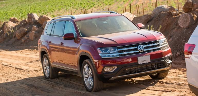 SUV Teramont de Volkswagen obtenida mediande My Leasing