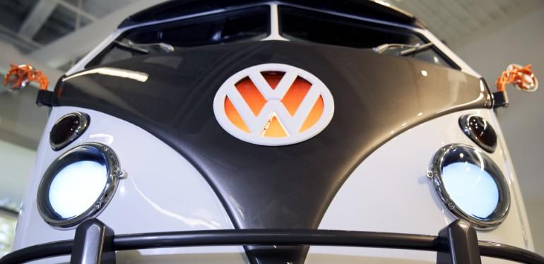 Faros LED frontales de combi eléctrica Type 20, proyecto de innovación de Volkswagen con identificación biométrica