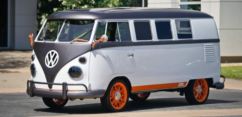 Combi Type 20 de Volkswagen el proyecto de innovación equipada con Sistema de Infotainment Holográfico