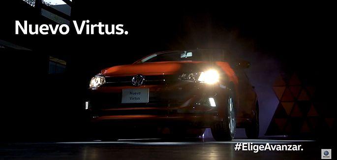Nuevo Virtus de Volkswagen, auto Sedán en evento por lanzamiento en mercado automotriz de México