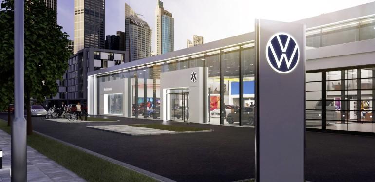 Nuevo logotipo de Volkswagen Group que será lanzado a nivel mundial en 2020