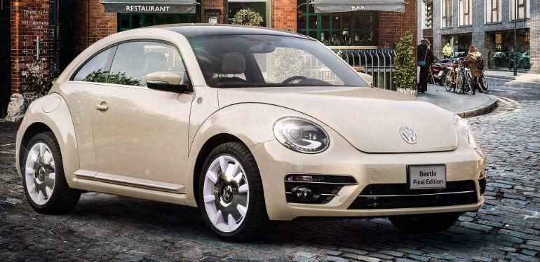 Beetle Final Edition el auto deportivo equipado con Frenos ABS ideal para viajar en carretera