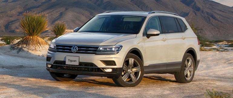 Tiguan, el SUV de Volkswagen equipado con techo corredizo panorámico ideal para realizar un roadtrip