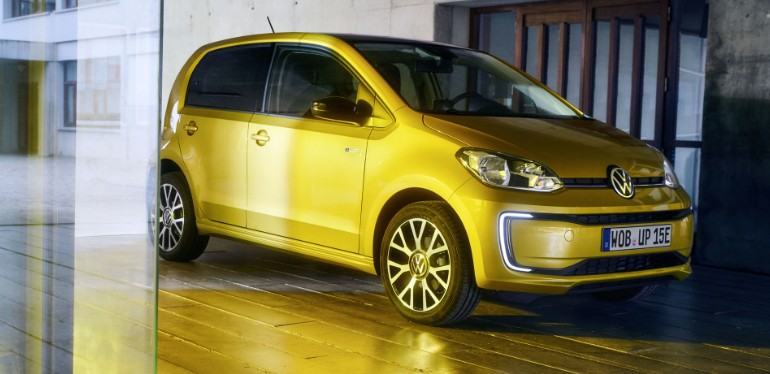 e-up el auto eléctrico ideal para andar en la ciudad de Volkswagen presentado en IAA