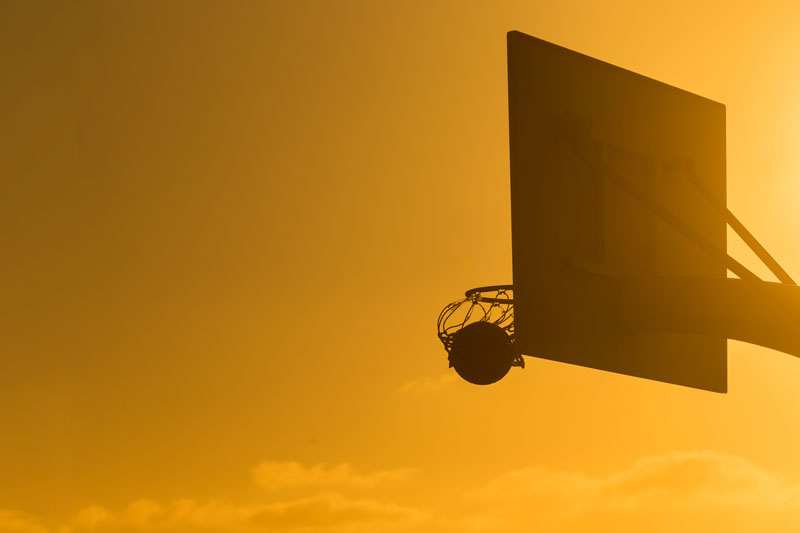 Slam dunk, make sure your goals fit into your life