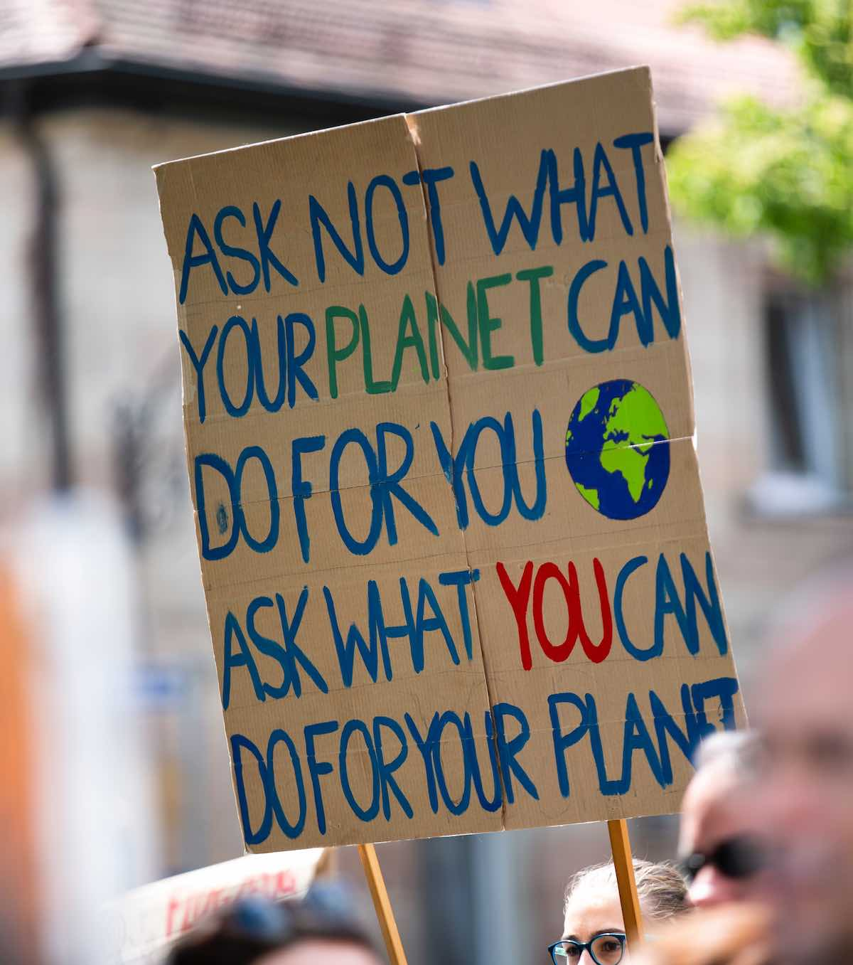 Climate change protest what can we do for our planet