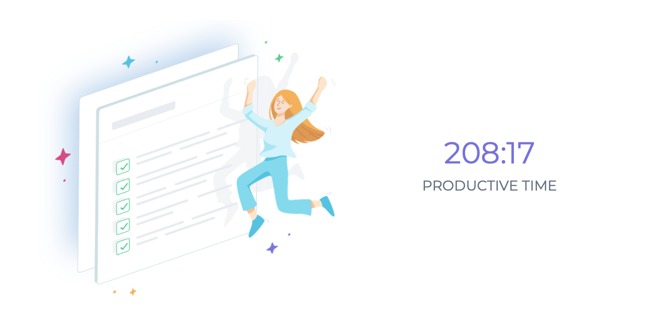 focus booster year in review email total productive time for 2020