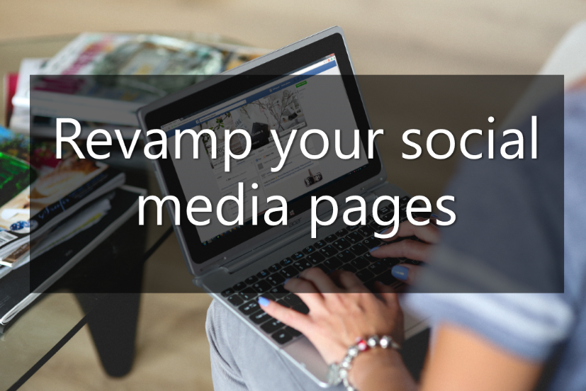 changing your business name - revamp your social media pages