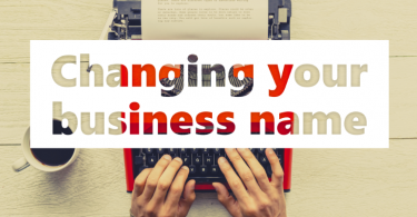 changing your business name - reputation management