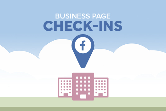Local search engine optimization - check-in feature