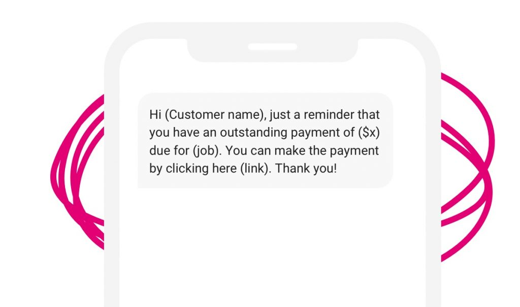 Business text messaging examples
