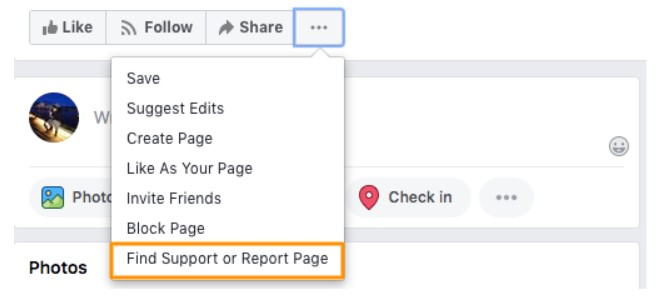 Delete Facebook business page Step 6