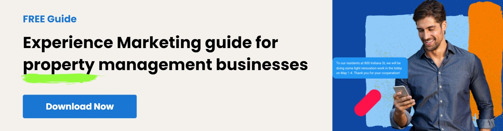 Guide to Experience Marketing for property management businesses
