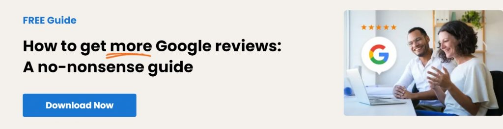 Google Reviews Guide