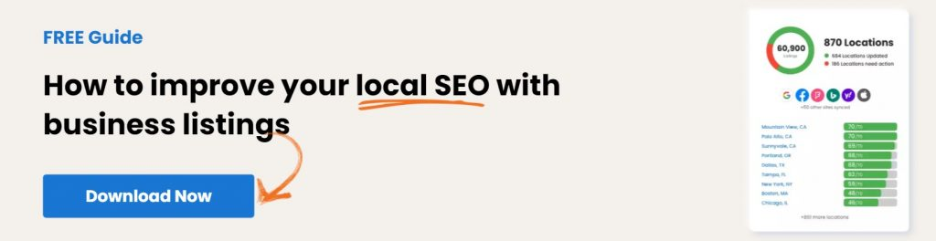 How to improve your local SEO with business listings