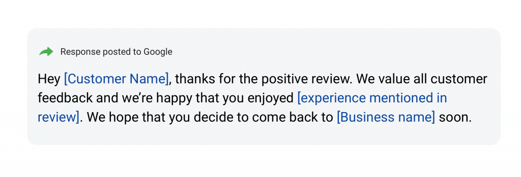 positive review response 3