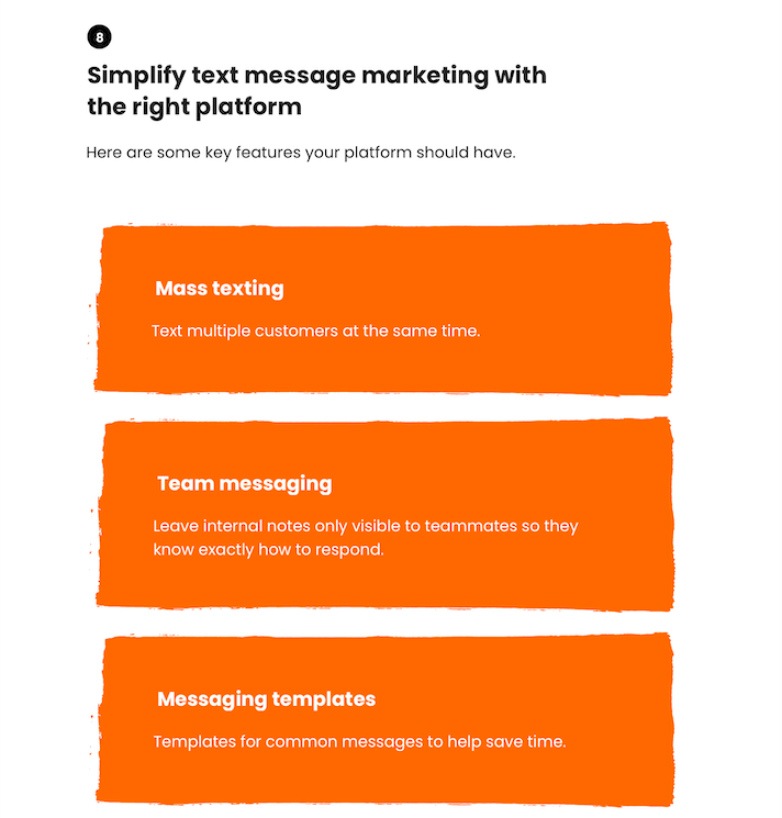 generate leads with SMS marketing