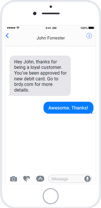 Use text messaging for a great customer experience