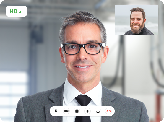 Video chat for Finance