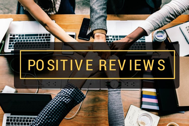 positive customer reviews - how to double their impact