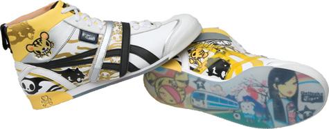 buy popular ac178 7ea5b tokidoki for Onitsuka Tiger shoes launch in June 2008!