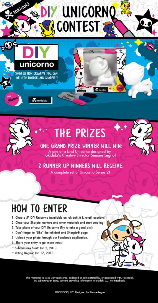 Announcing the tokidoki & Sharpie DIY Unicorno Challenge!