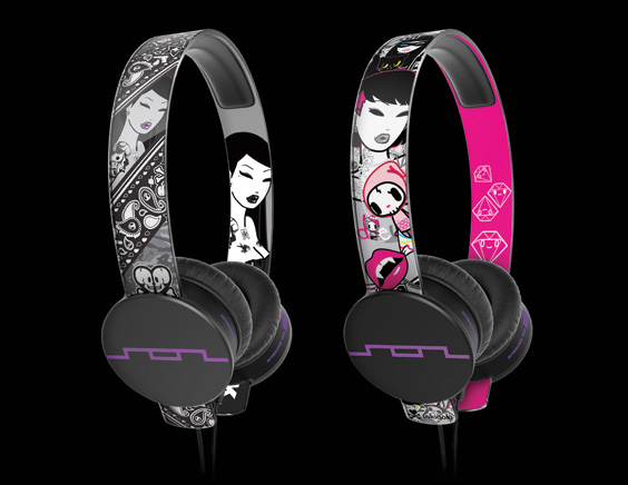 SOL REPUBLIC x tokidoi Headphones