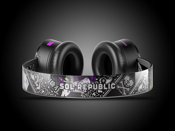 TKDK x SOL REPUBLIC headphone