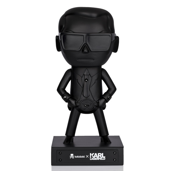 tokidoki x Karl Lagerfeld Special Edition All Black Collectible Vinyl