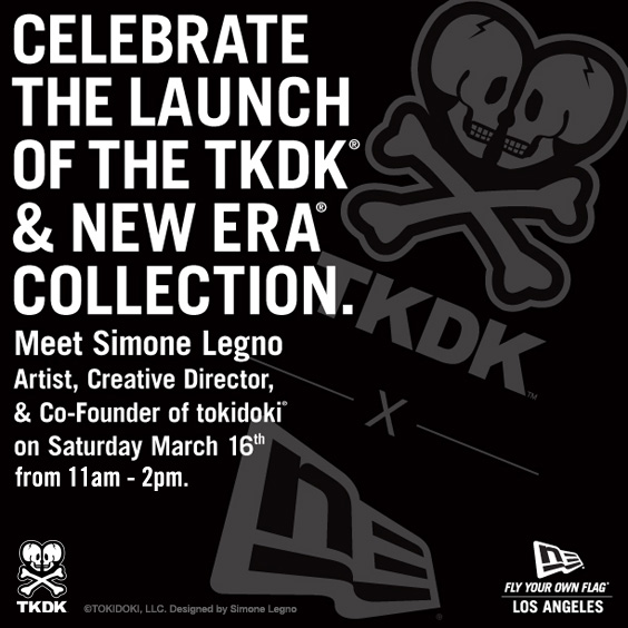 Simone Legno Signing at TKDK x New Era Event LA Flagship