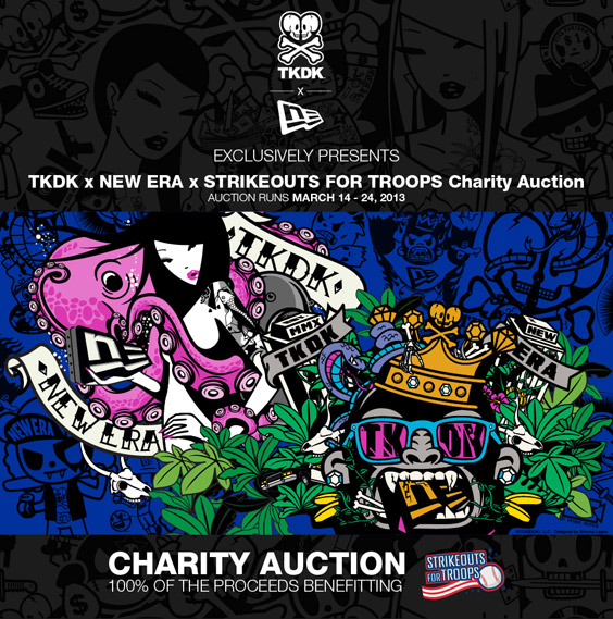 TKDK x NEW ERA x STRIKEOUTS FOR TROOPS Charity Auction