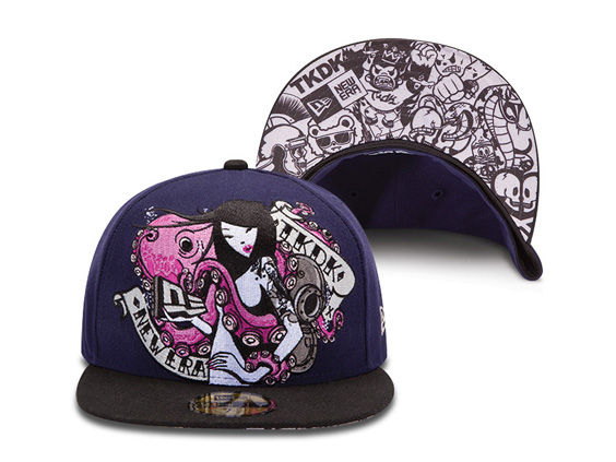 TKDK x New Era Octopus Girl Fitted Hat