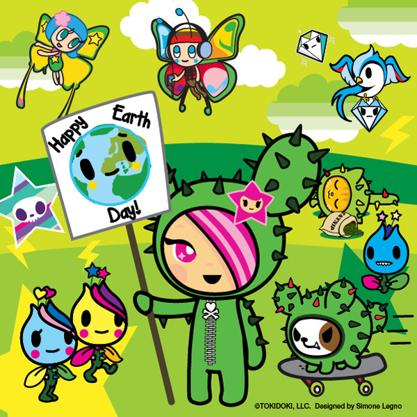 Happy Earth Day <3 tokidoki