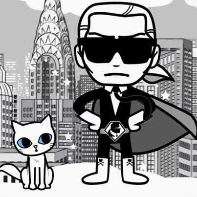 Coming Soon Teaser tokidoki x Karl Lagerfeld